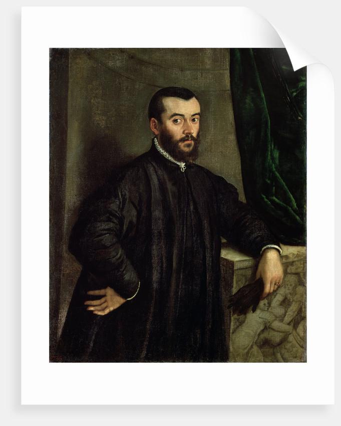 Portrait of the physician Andreas Vesalius by Steven van Calcar