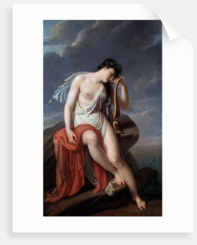 Sappho on the Lefkadas Cliff, early 19th century by Anonymous