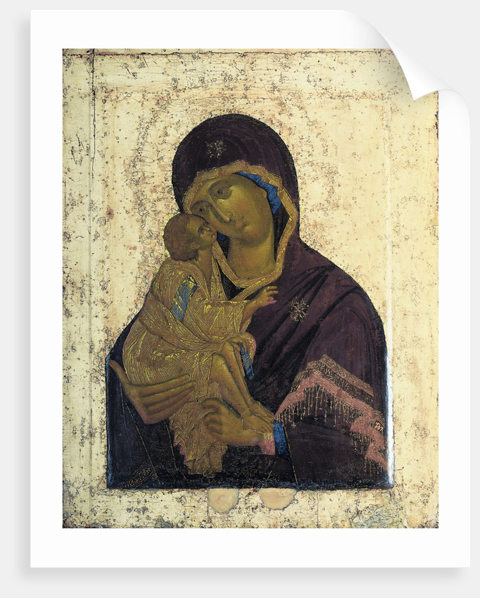 The Virgin of the Don (Double-faced Icon), c1390 by Anonymous