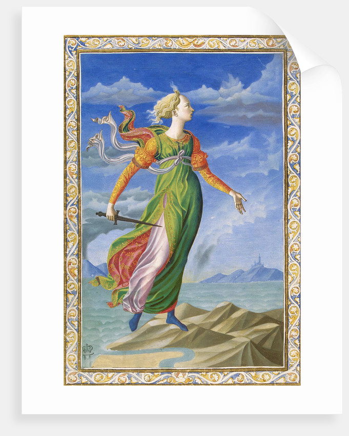 Allegory of Carthage, c1448. by Francesco di Stefano Pesellino