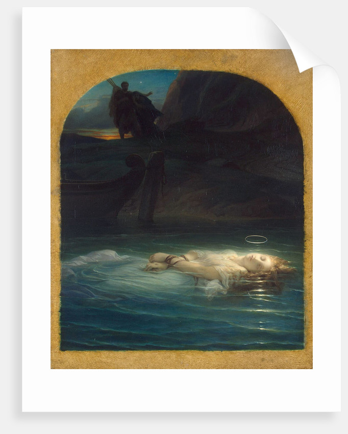 Christian Martyr Drowned in the Tiber During the Reign of Diocletian, 1853 by Anonymous