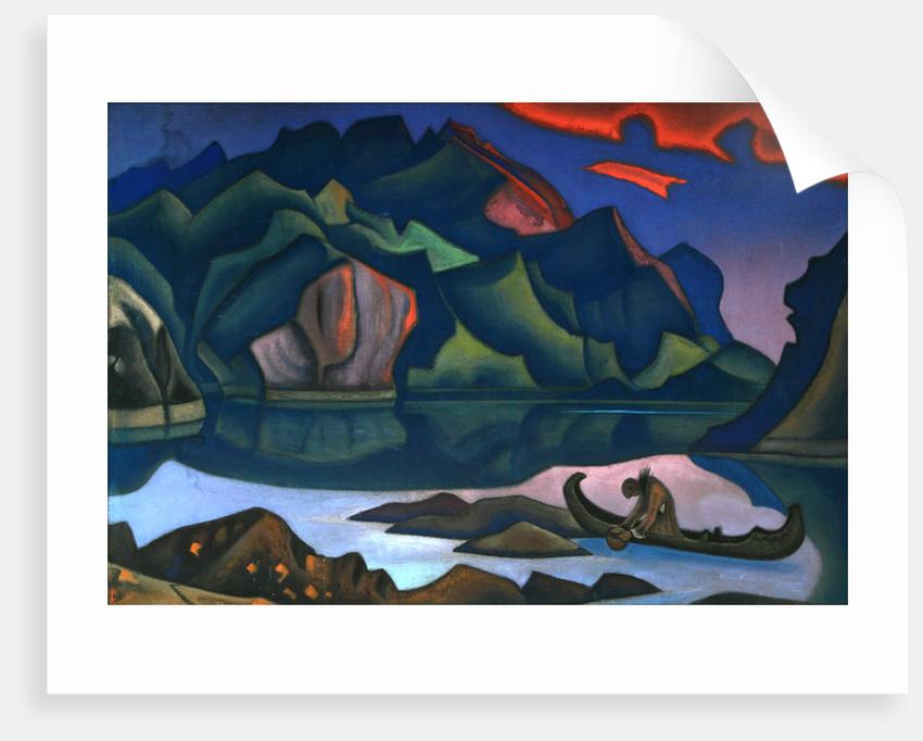 Hidden Treasure, 1947 by Nicholas Roerich