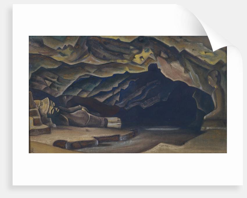 Parinirvana, 1935-1936 by Nicholas Roerich