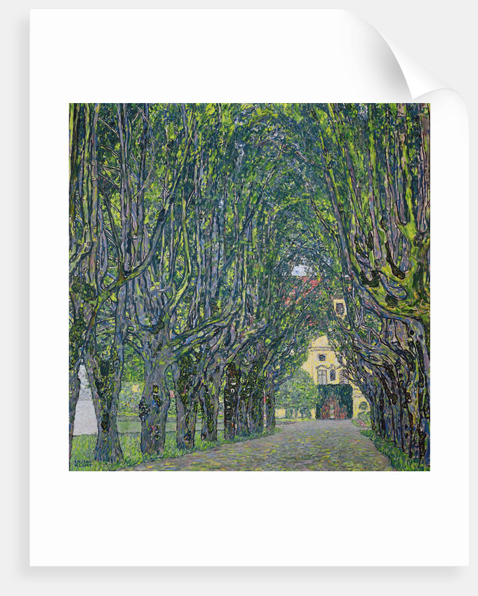 Avenue in the Park of Kammer Castle by Gustav Klimt