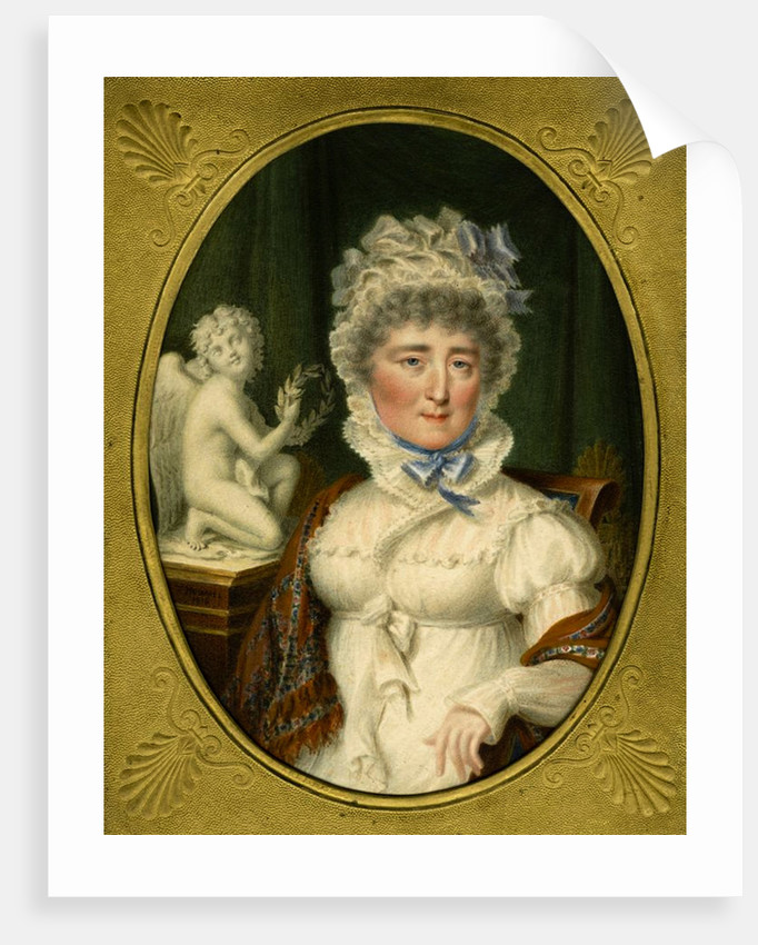 Portrait of Princess Elzbieta Izabela Lubomirska (née Countess Czartoryska), 1816 by Carl Hummel