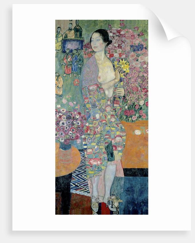 HD. The dancer, by Gustav Klimt . HIGH DEFINITION T