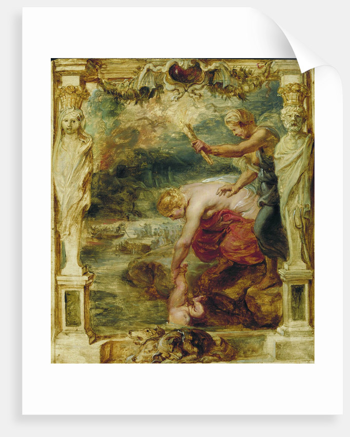 Thetis dipping the infant Achilles into the river Styx, 1630-1635 by Pieter Paul Rubens