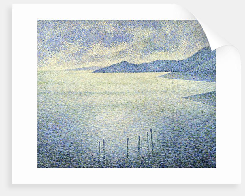 Coastal Scene by Theo van Rysselberghe