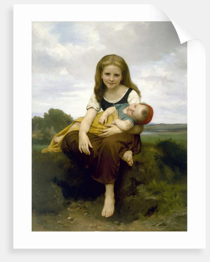 The Elder Sister (La Soeur aînée), 1869 by William-Adolphe Bouguereau