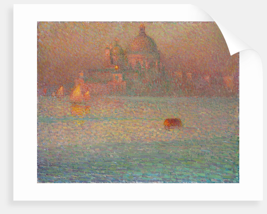 Fireworks. Winter Morning in Venice by Henri Le Sidaner