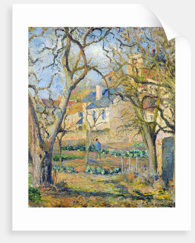 Vegetable Garden by Camille Pissarro