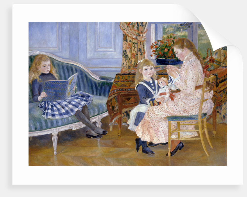 Children's Afternoon at Wargemont by Pierre-Auguste Renoir