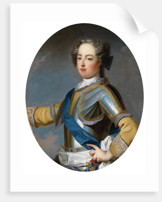 Portrait of the King Louis XV (1710-1774) by Jean Baptiste Van Loo