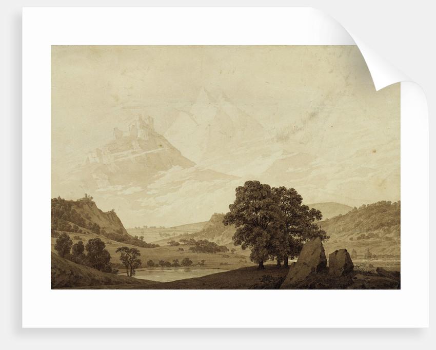 Autumn - Evening - Maturity by Caspar David Friedrich