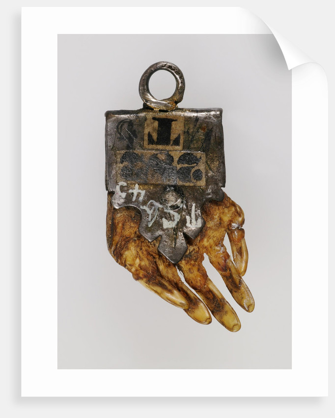 Witch moles paw (Mole Amulet), 18th century by Anonymous