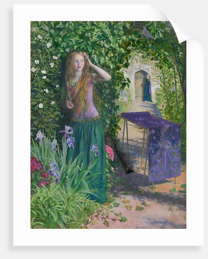 Fair Rosamund, 1854 by Arthur Hughes