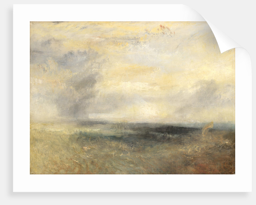 Margate, from the Sea by Joseph Mallord William Turner