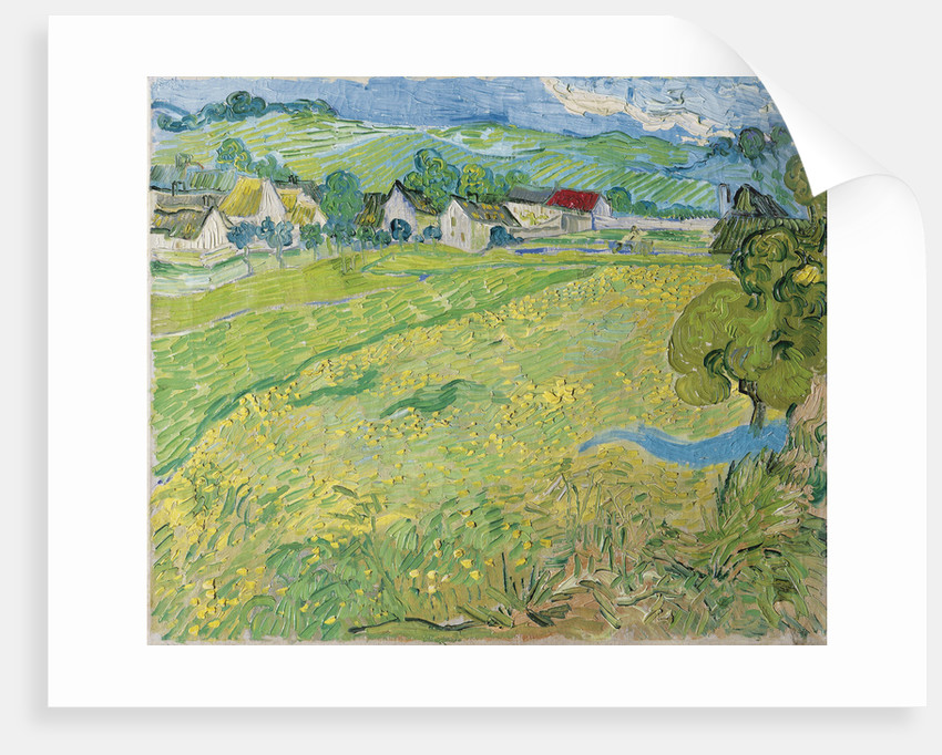 View of Vessenots in Auvers, 1890 by Vincent van Gogh
