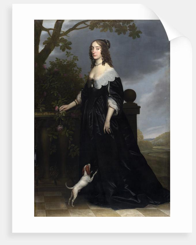 Elizabeth Stuart (1596-1662), Queen of Bohemia by Gerrit van Honthorst