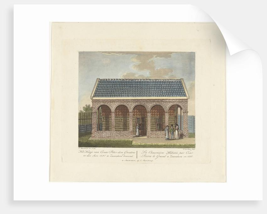 The Czar Peter House in Zaandam, 1697, ca 1825 by Willem van Senus