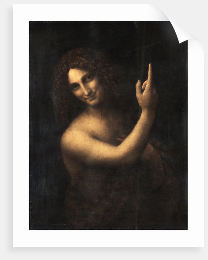 Saint John the Baptist by Leonardo Da Vinci