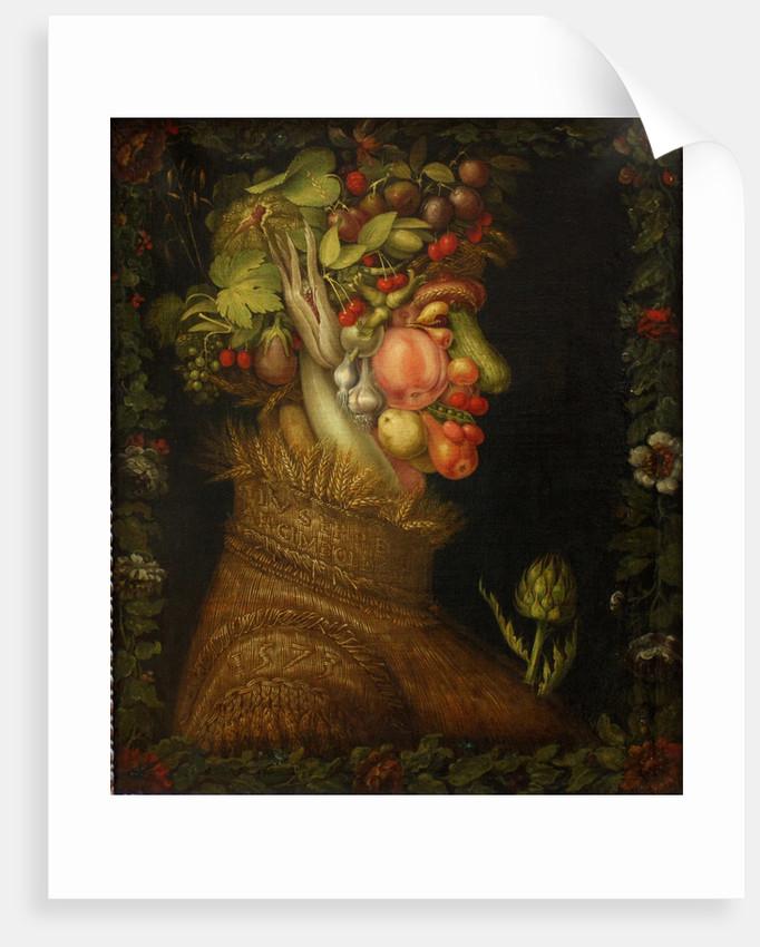 Summer, 1573 by Giuseppe Arcimboldo