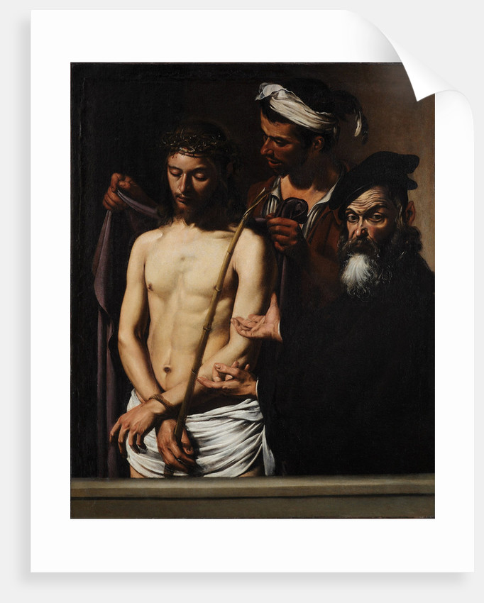 Ecce Homo, c. 1605 by Michelangelo Caravaggio