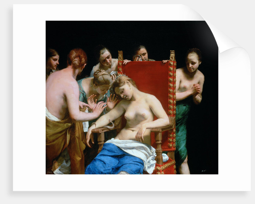 The Death of Cleopatra by Guido Canlassi