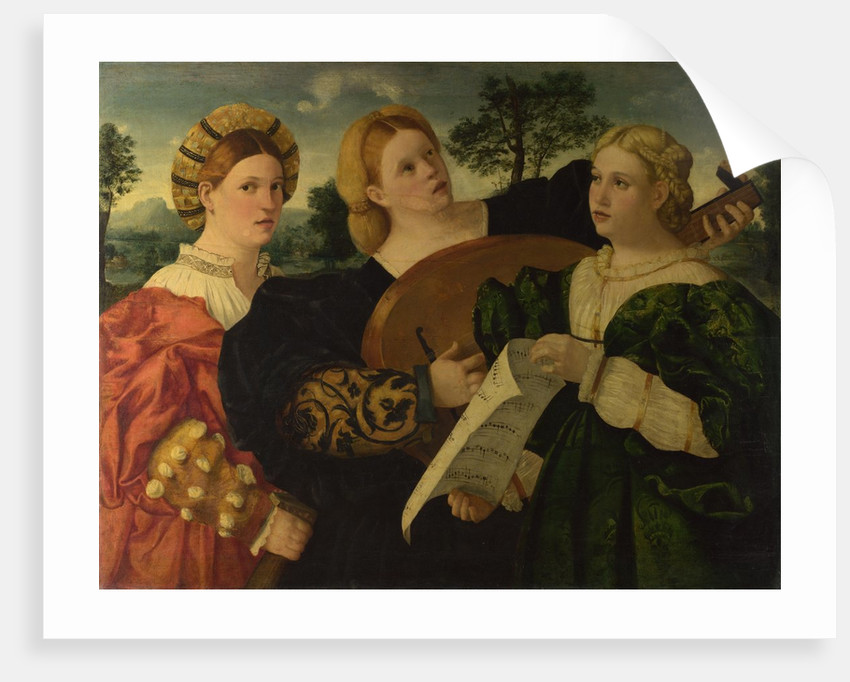 A Concert, c. 1525 by Italian master