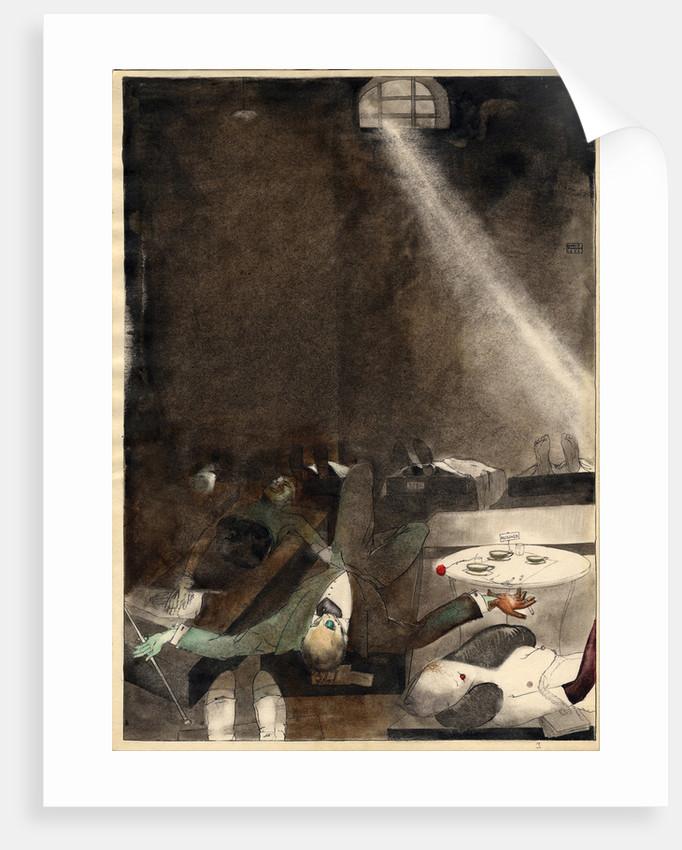 Five O?clock Tea in the Morgue, 1935 by Karlis Padegs