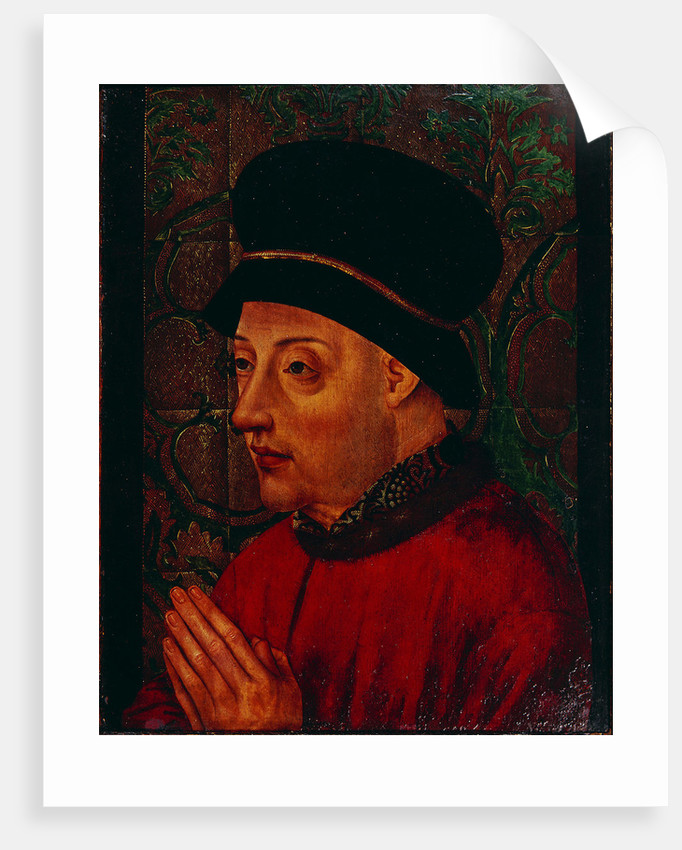 Portrait of King John I of Portugal, Early 15th cen by Anonymous