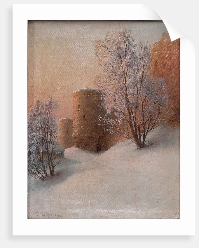 Koporye Fortress by Gavriil Pavlovich Kondratenko