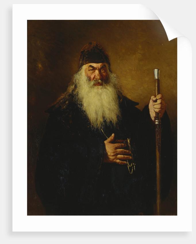 Protodeacon, 1877 by Ilya Yefimovich Repin