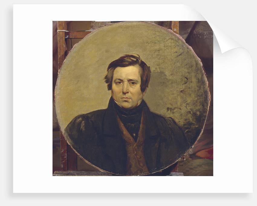 Portrait of the author Vasily Ivanovich Orlov, 1836 by Karl Pavlovich Briullov