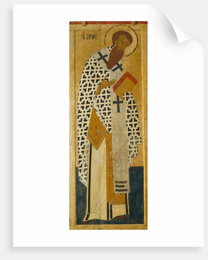 Saint Basil The Great by Dionysius