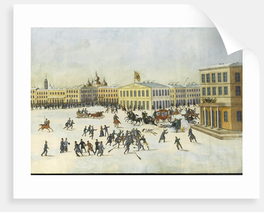 The Assassination of Alexander II on 13 March 1881, 1881-1882 by Russian master