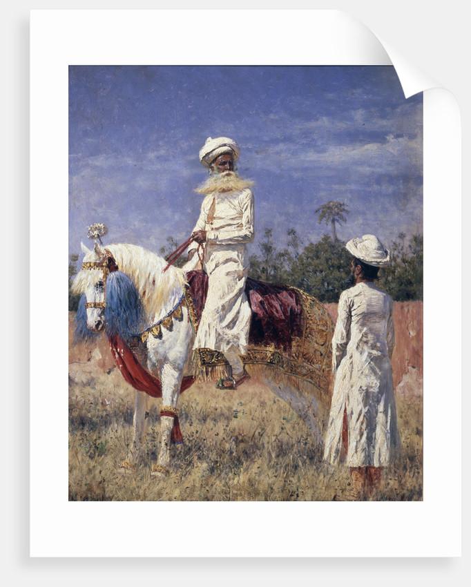 A horseman in Jaipur, 1881 by Vasili Vasilyevich Vereshchagin
