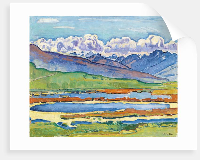 Etang long Crans-Montana by Ferdinand Hodler