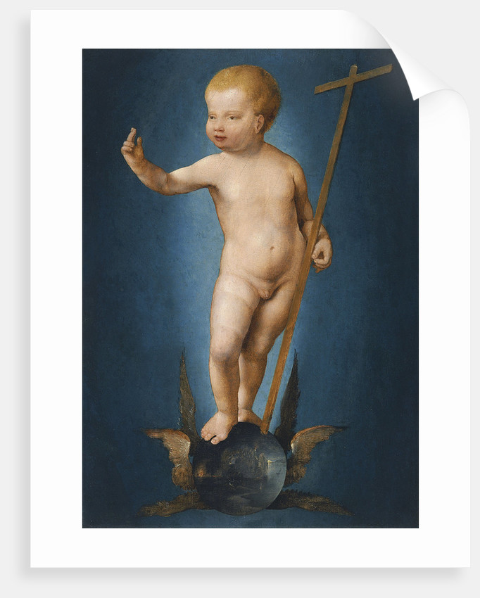 The Infant Christ on the Orb of the World, ca 1530 by Joos van Cleve