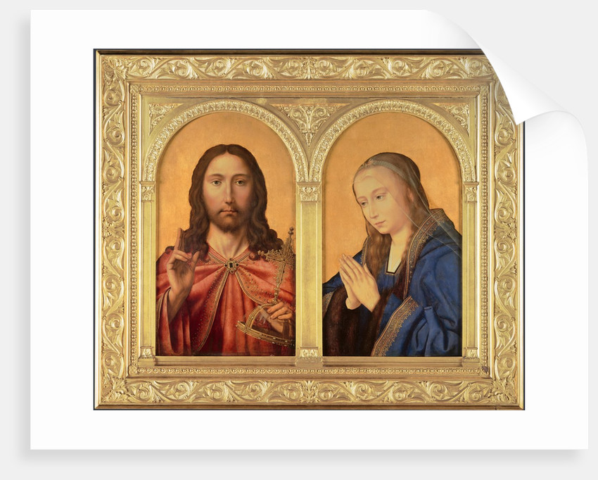 Diptych: Christ and the Virgin, Between 1500 and 1550 by Quentin Massys