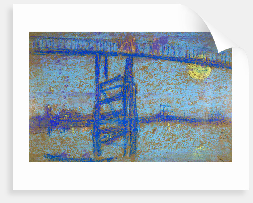 Nocturne: Battersea Bridge by James Abbott McNeill Whistler