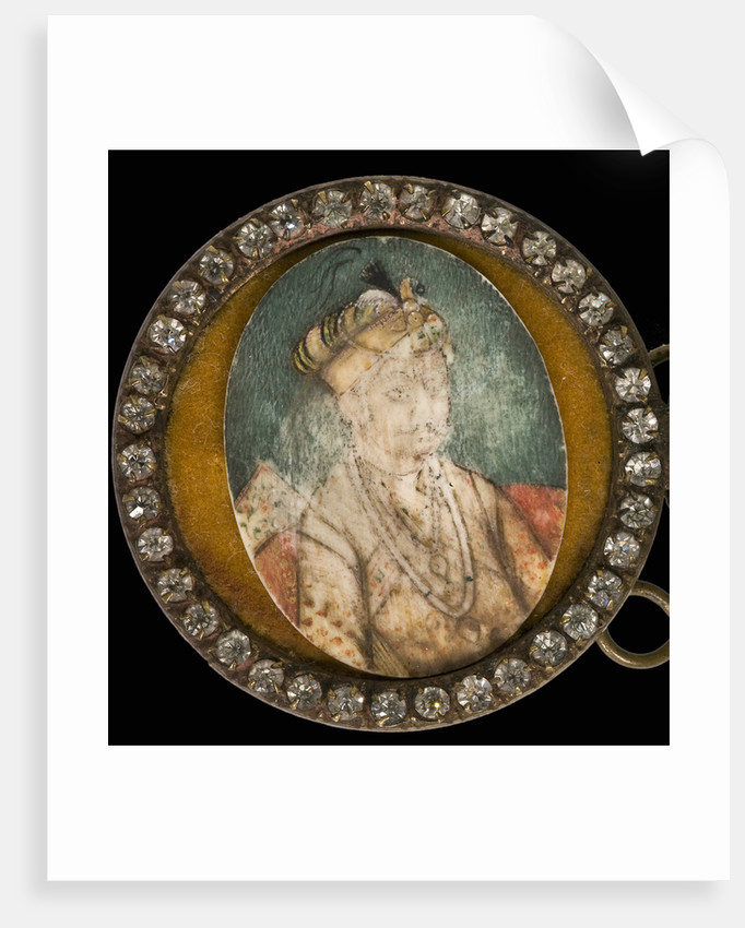 Portrait of Akbar the Great, Mughal Emperor by Anonymous