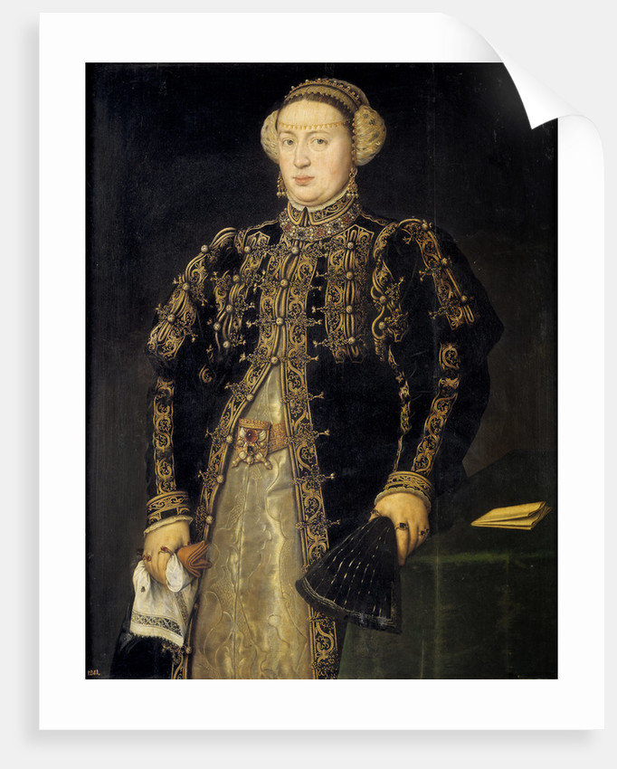 Catherine of Austria, Queen of Portugal, 1552-1553 by Antonis Mor