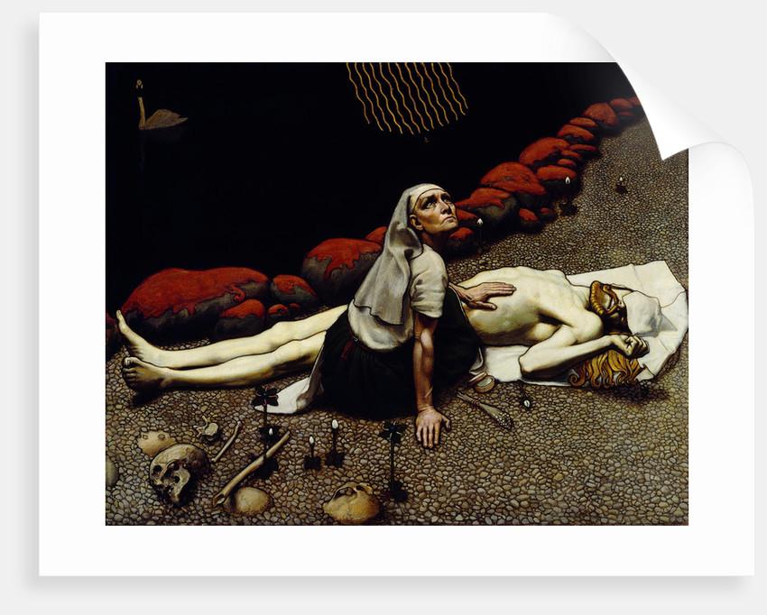 Lemminkäinens Mother, 1897 by Akseli Gallen-Kallela