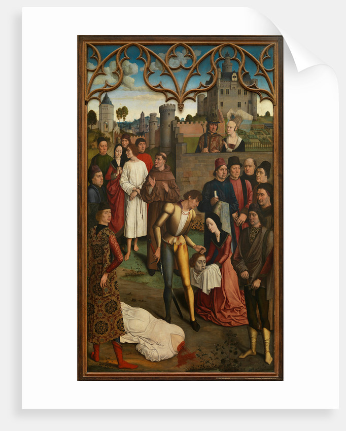 The Justice of Emperor Otto III: Beheading of the Innocent Count, 1471-1475 by Dirk Bouts
