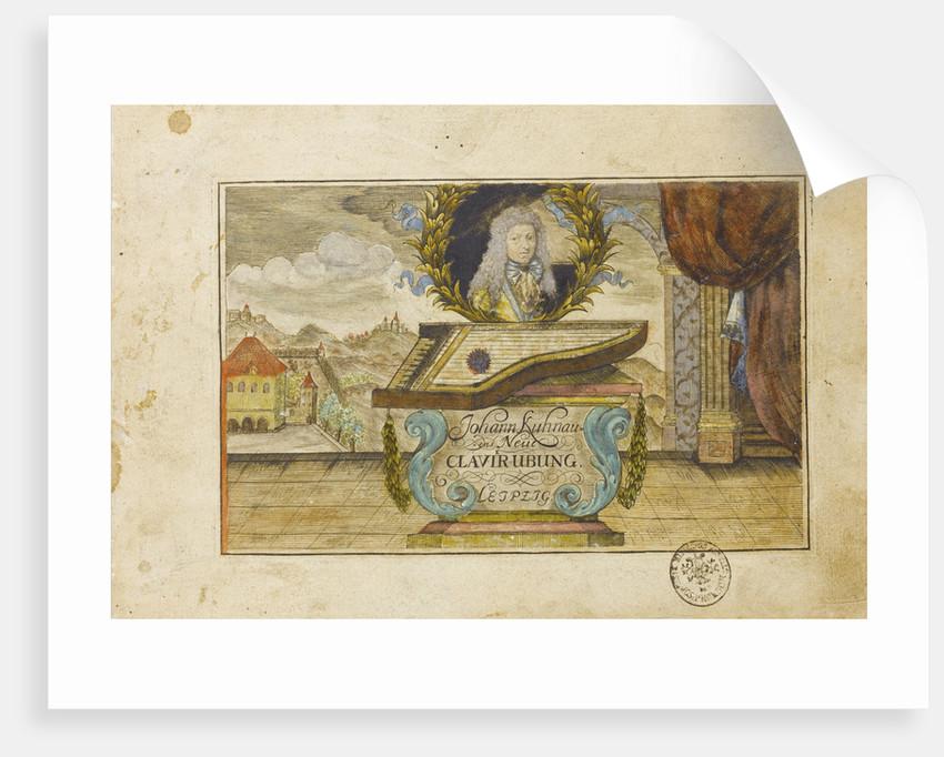 Johann Kuhnau (Neue Clavier-Uebung), 1689 by Anonymous