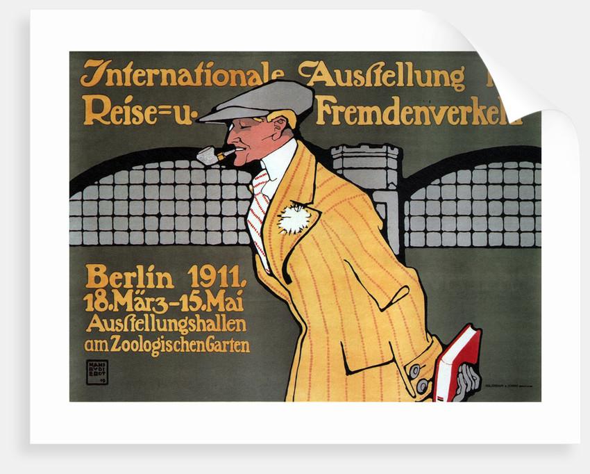 International Travel Exhibition, Berlin, 1911 by Hans Rudi Erdt