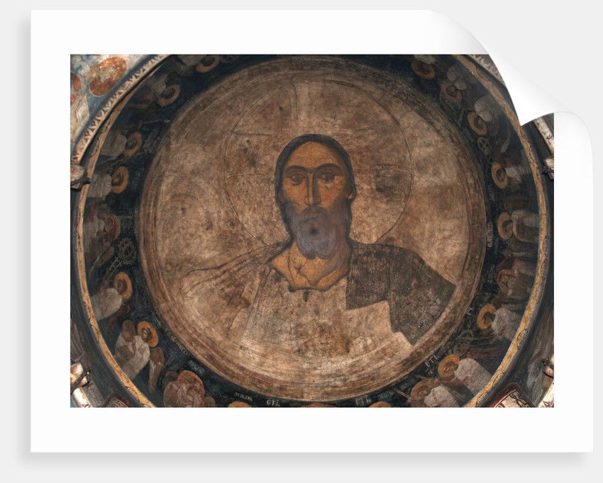 Christ Pantocrator, ca 1350 by Anonymous