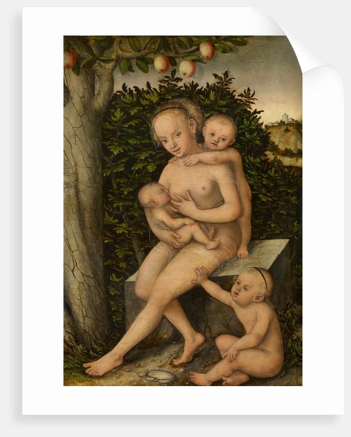 Charity, ca 1537 by Lucas Cranach the Elder