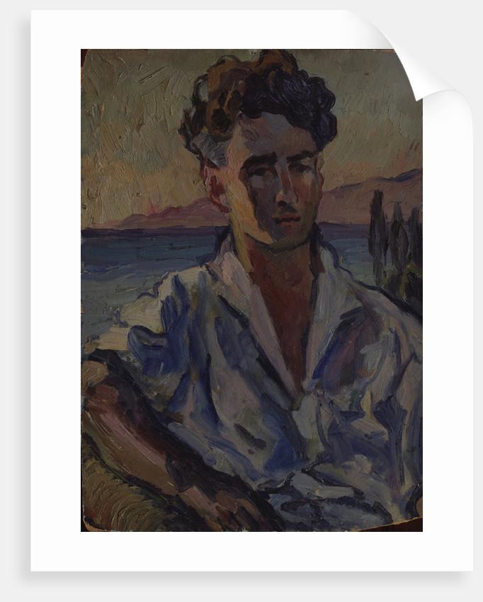 Portrait of the poet Josef Utkin, 1931 by Aristarkh Vasilyevich Lentulov